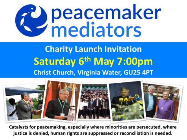 Peacemaker Mediators launch invitation