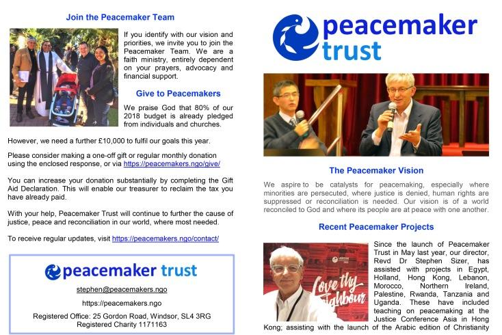 Peacemaker Challenge 2018-1